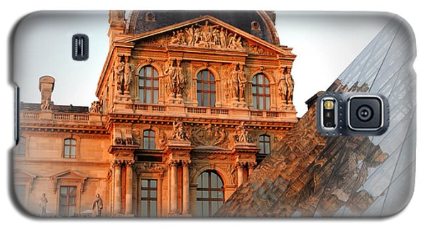 Galaxy S5 Case featuring the photograph Louvre And Pei by Jacqueline M Lewis