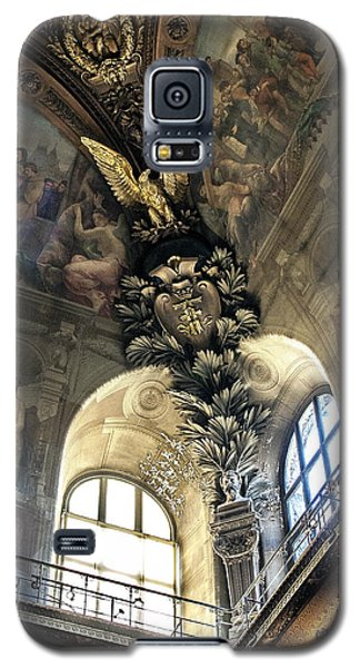 Louvre With A View Denise Dube Galaxy S5 Case