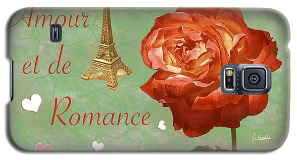 Love And Romance Galaxy S5 Case