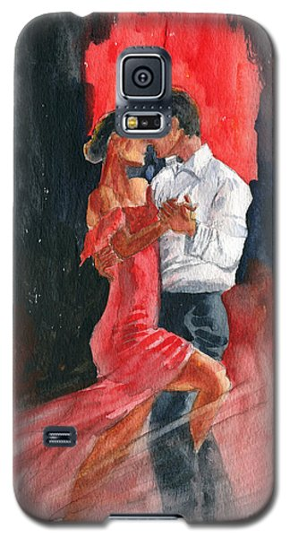 Love And Tango Galaxy S5 Case by Melly Terpening