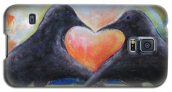 Lovebird Galaxy S5 Case - Love Birds by Mary Medrano