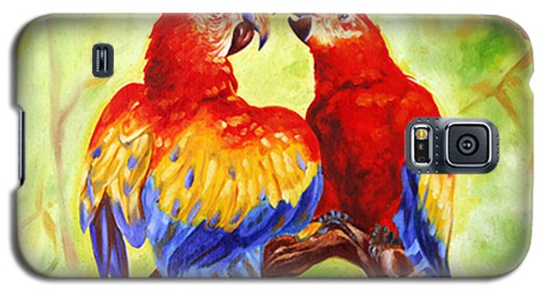 Love Birds  Galaxy S5 Case by Ragunath Venkatraman