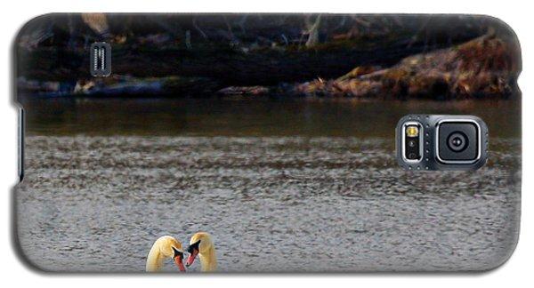 Love Birds Galaxy S5 Case by Richard Engelbrecht