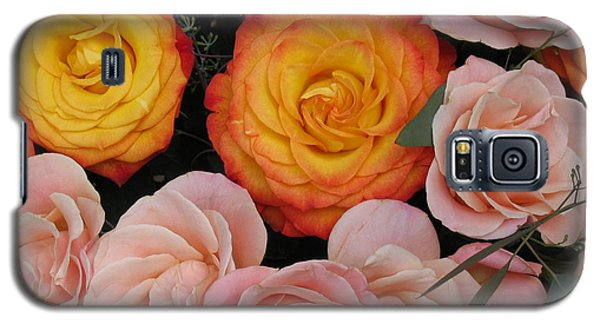 Galaxy S5 Case featuring the photograph Love Bouquet by HEVi FineArt