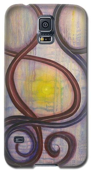 Galaxy S5 Case featuring the painting Love by Catherine Hamill