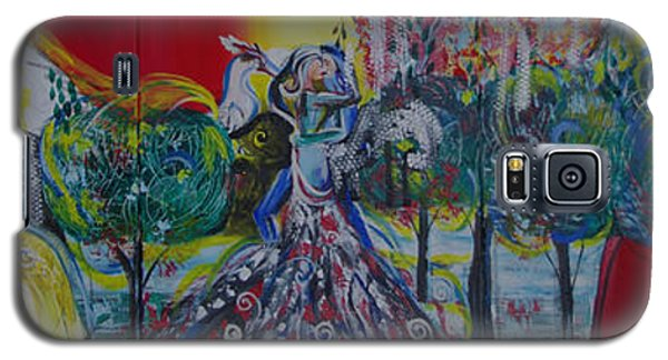 Love Dance In Five Panell Galaxy S5 Case