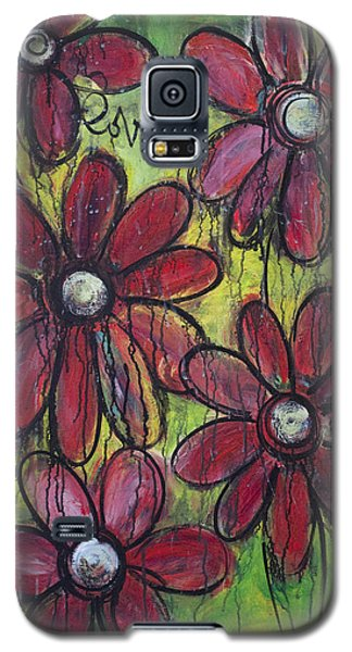 Love For Five Daisies Galaxy S5 Case
