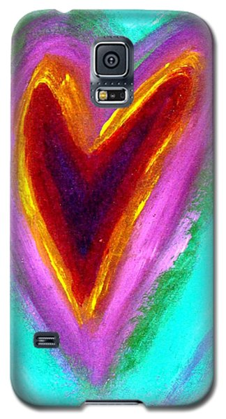 Love From The Heart Galaxy S5 Case