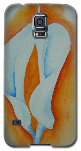 Calla Lilies Galaxy S5 Case by Geeta Biswas
