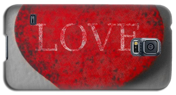 Love Heart 1 Galaxy S5 Case by Richard Reeve