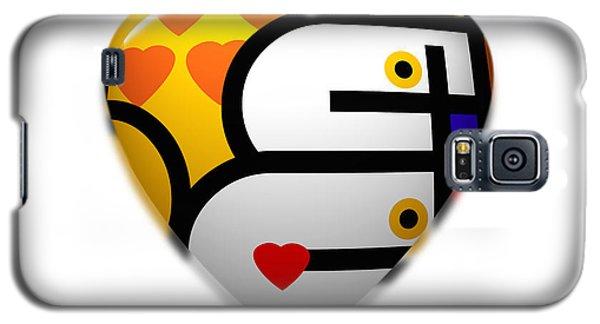 Love Heart Pop Galaxy S5 Case