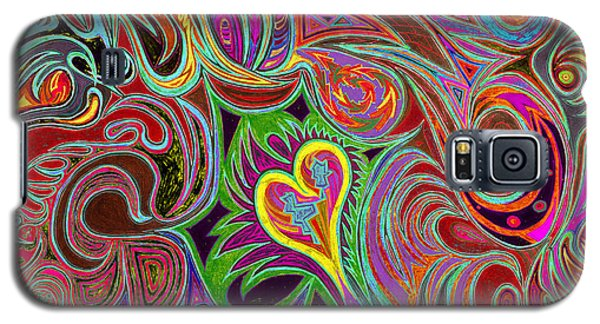 love in every shade of U v7 - love in every shade of blue Galaxy S5 Case