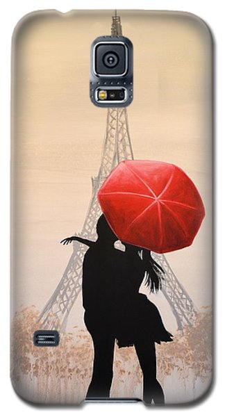 Love In Paris Galaxy S5 Case by Amy Giacomelli
