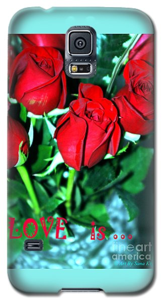 Love Is... Collection. Delightful Galaxy S5 Case