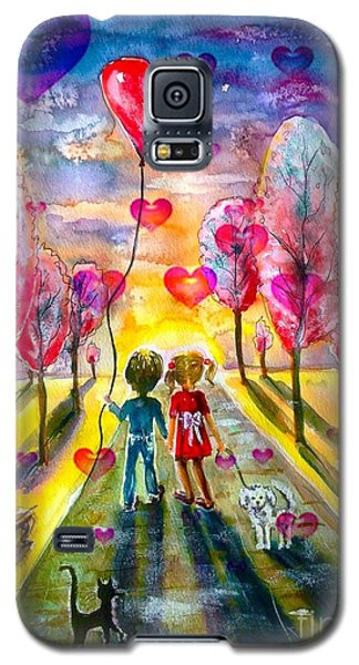 Love Is In The Air 2 Galaxy S5 Case