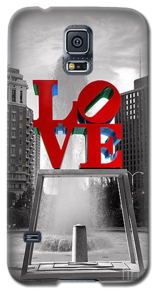 Love Isn't Always Black And White Galaxy S5 Case by Paul Ward