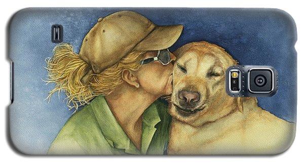Love Me Love My Dog Galaxy S5 Case by Nan Wright
