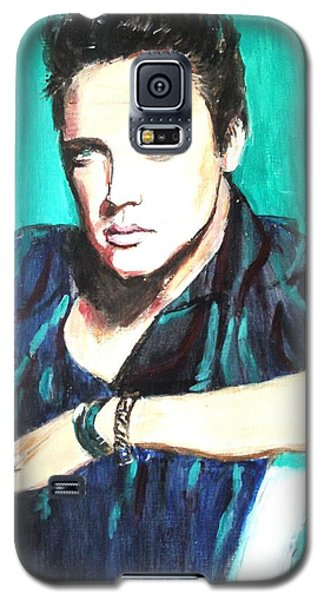 Galaxy S5 Case featuring the painting Love Me Tender   by Judy Kay