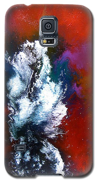 Galaxy S5 Case featuring the painting Love by Min Zou