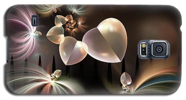 Galaxy S5 Case featuring the digital art Love Needs Freedom by Gabiw Art