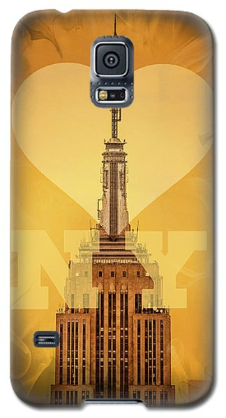 Love New York Galaxy S5 Case by Az Jackson