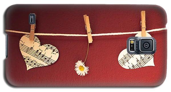 Love On The Line Galaxy S5 Case by Jan Bickerton