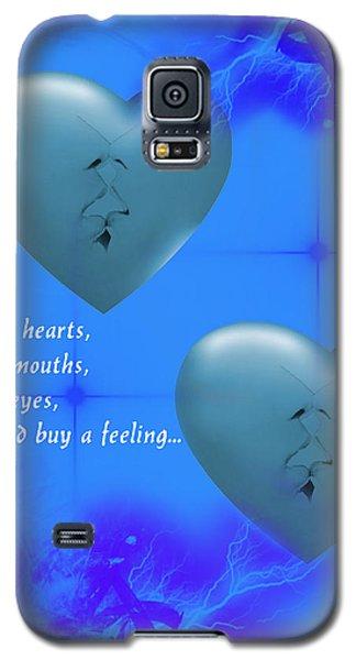 Galaxy S5 Case featuring the digital art Love On Valentine's Day by Angel Jesus De la Fuente
