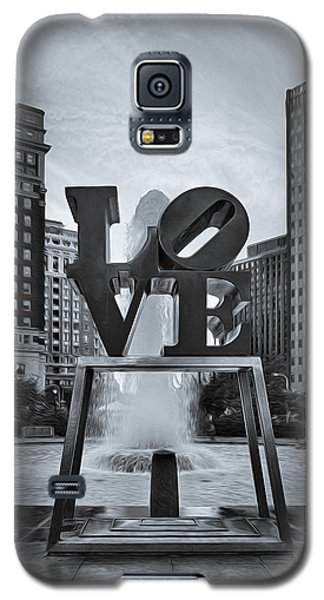 Love Park Bw Galaxy S5 Case