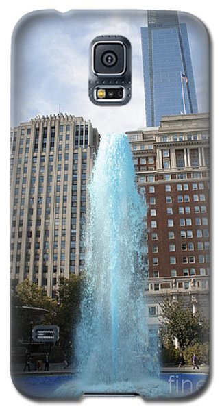 Galaxy S5 Case featuring the photograph Love Park by Christopher Woods