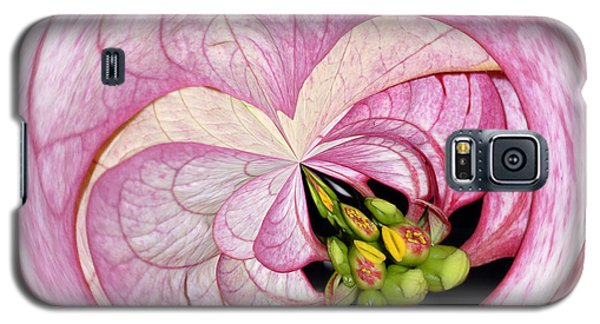 Galaxy S5 Case featuring the photograph Love Pink by Sami Martin