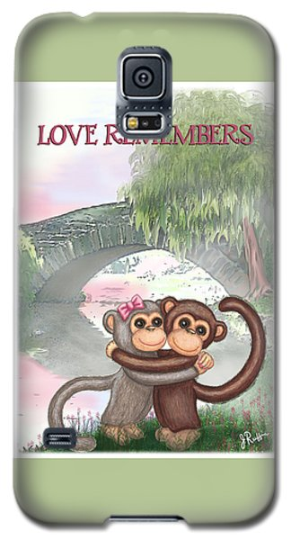 Love Remembers Galaxy S5 Case by Jerry Ruffin