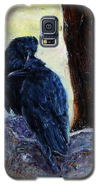 Galaxy S5 Case featuring the painting Love Season I by Xueling Zou