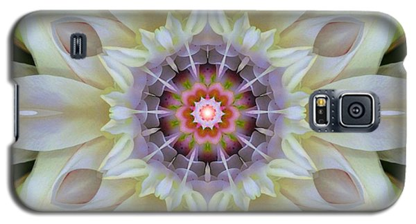 Love Star Flower Mandala Galaxy S5 Case