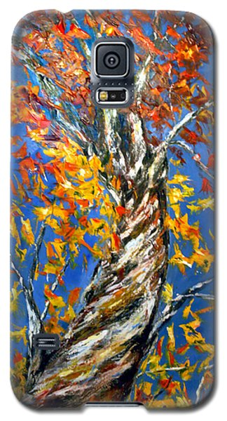 Galaxy S5 Case featuring the painting Love That Reaches by Meaghan Troup
