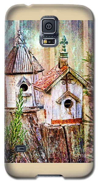 Love Thy Neighbor - Birdhouses Galaxy S5 Case
