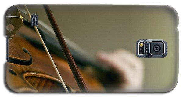 Music Galaxy S5 Case - Love To Violin by Urte Berteskaite