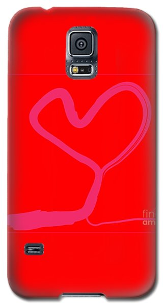 Galaxy S5 Case featuring the painting Love Tree by Go Van Kampen