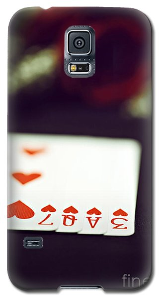 Galaxy S5 Case featuring the photograph Love Trick by Trish Mistric