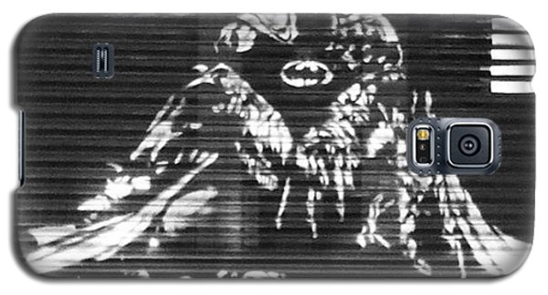 Superhero Galaxy S5 Case - Love Will Tear Us Apart #batman by Manchester Flick Chick