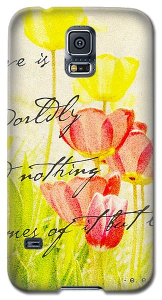 Love Words Galaxy S5 Case