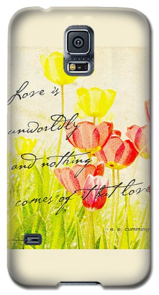 Love Words Galaxy S5 Case