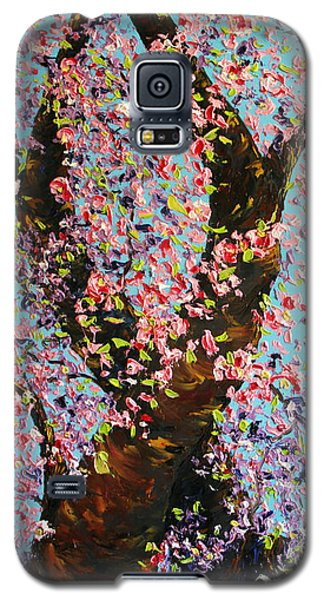 Galaxy S5 Case featuring the painting Love Wound by Meaghan Troup