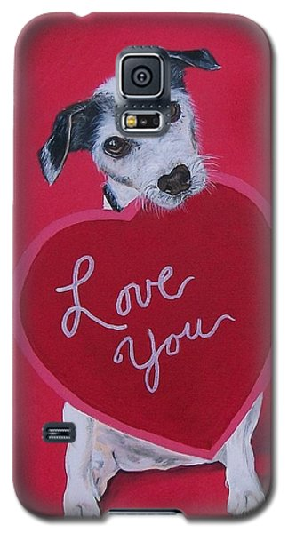 Love You Galaxy S5 Case by Sharon Duguay