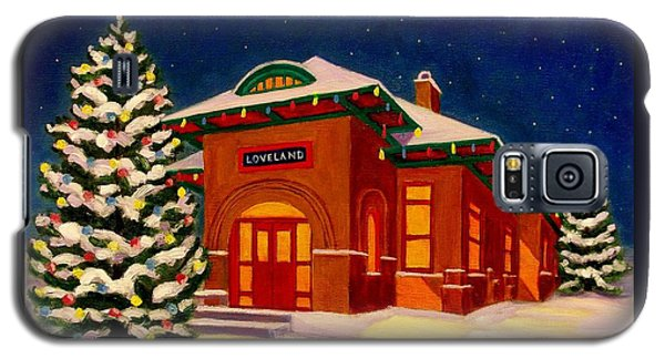 Loveland Depot At Christmas Galaxy S5 Case