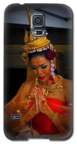 Lovely Balinese Dancer Galaxy S5 Case