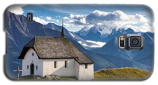 Lovely Little Chapel In The Swiss Alps Galaxy S5 Case