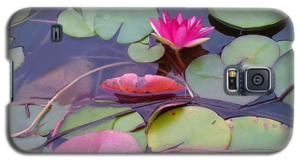 Galaxy S5 Case featuring the photograph Lovely Lotus by Diana Riukas