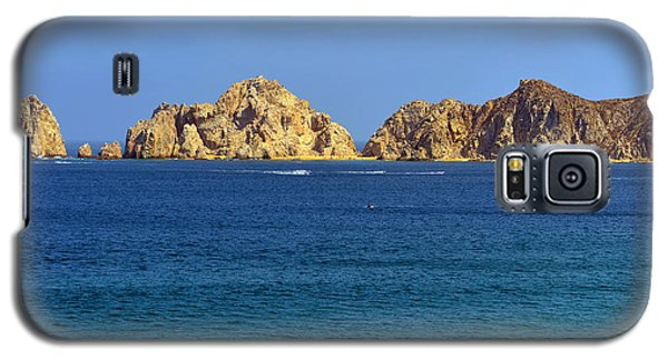 Galaxy S5 Case featuring the photograph Lovers Beach Cabo by Christine Till