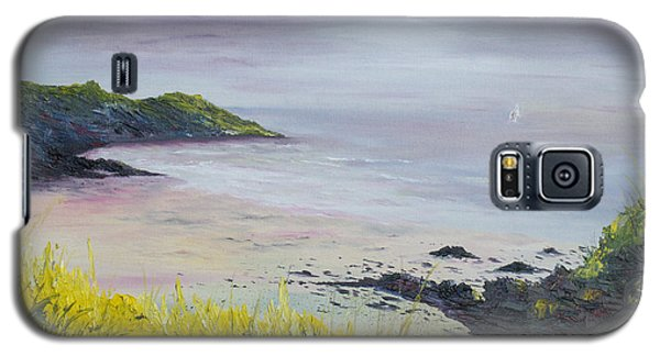 Galaxy S5 Case featuring the painting Lovers Cove Kinsale   by Conor Murphy