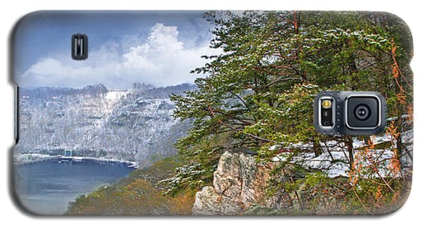 Lovers Leap At Hawks Nest Galaxy S5 Case